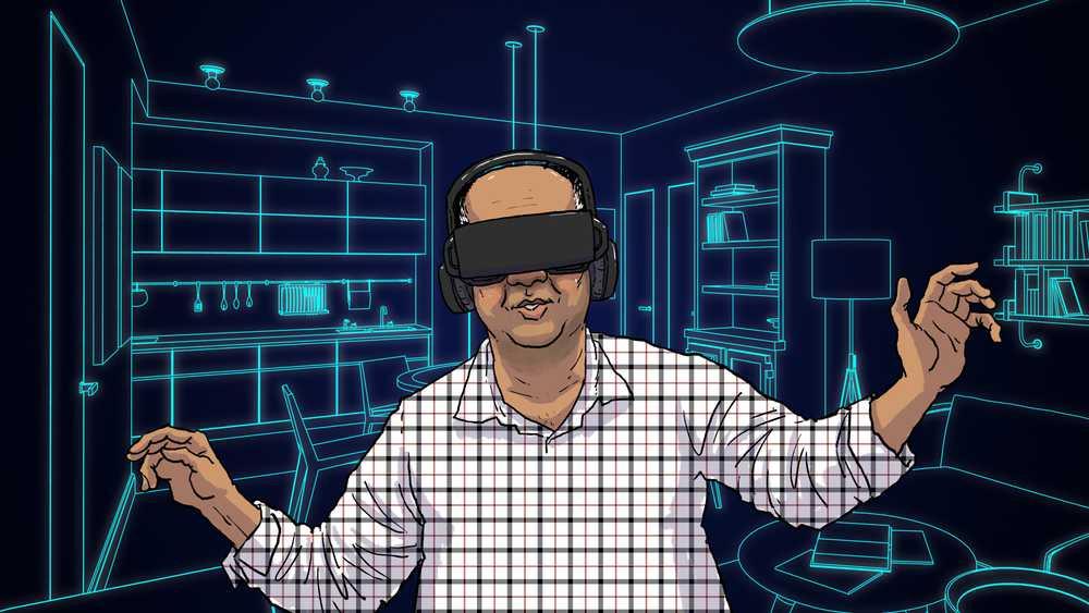 India's real estate - VR artwork